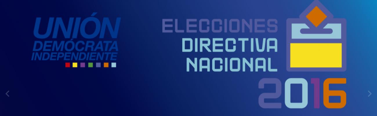 ELECCIONES DIRECTIVA NACIONAL